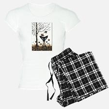 Fall Feline Pajamas