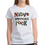 Native Americans Rock Pride Women's T-Shirt