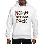 Native Americans Rock Pride Hooded Sweatshirt