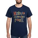 Native Americans Rock Pride Dark T-Shirt