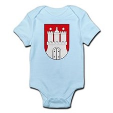 Hamburg Coat of Arms (small) Infant Creeper
