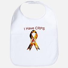 I have CRPS RSD World A Blaze Ribbon Bib