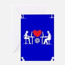 online dating Greeting Cards