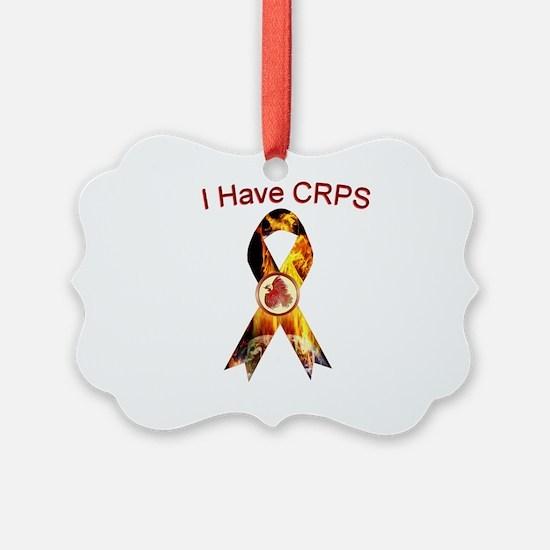 I have CRPS RSD World A Blaze Rib Ornament