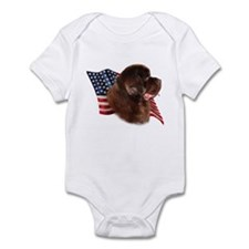 Newfie Flag Infant Bodysuit