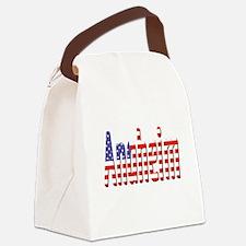 Patriotic Anaheim Canvas Lunch Bag