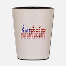 Patriotic Anaheim Shot Glass