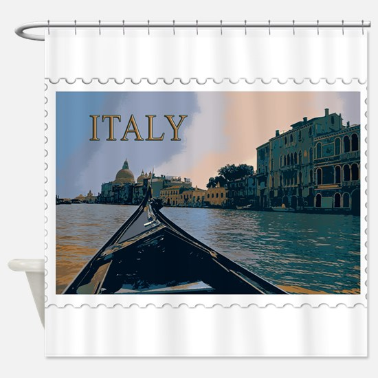 Gondola in Grand Canal Venice Italy Shower Curtain