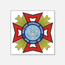 "VFW Post 327 logo Square Sticker 3"" x 3"""