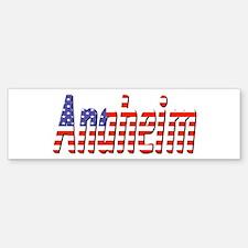 Patriotic Anaheim Bumper Bumper Bumper Sticker