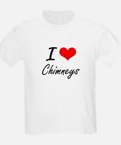 I love Chimneys Artistic Design T-Shirt