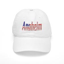 Patriotic Anaheim Baseball Baseball Cap