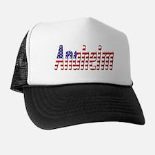 Patriotic Anaheim Trucker Hat