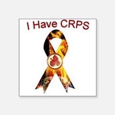 I have CRPS RSD World A Blaze Ribbon Sticker