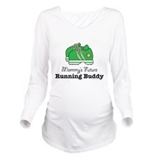 Unique Baby running Long Sleeve Maternity T-Shirt