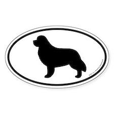Newfoundland Oval Bumper Stickers