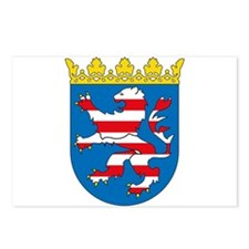 Hessen Coat of Arms Postcards (Package of 8)