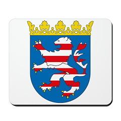 Hessen Coat of Arms Mousepad