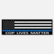 Cop Lives Matter Bumper Stickers