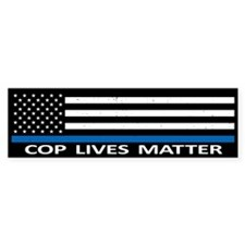 Cop Lives Matter Stickers