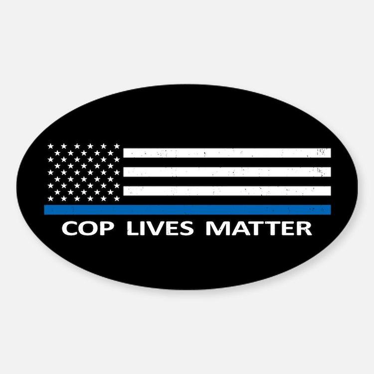 Cop Lives Matter Decal