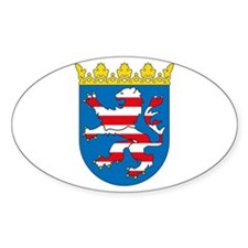 Hessen Coat of Arms Oval Decal