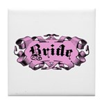 Bride Tile Coaster