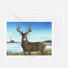 Cute Whitetail deer Greeting Card