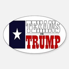 Texans For Trump Decal
