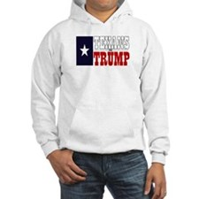 Texans For Trump Hoodie