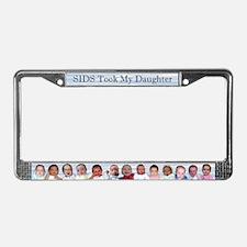 Sudden infant death License Plate Frame