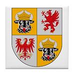 Mecklenburg Vorpommern Tile Coaster