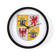 Mecklenburg Vorpommern Wall Clock