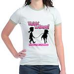 Walkin' For Raven Jr. Ringer T-Shirt