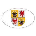 Mecklenburg Vorpommern Oval Sticker