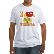I Heart Tennis Smiley Shirt