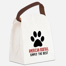 American Bobtail Simply The Best Canvas Lunch Bag