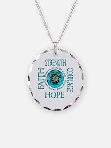CRPS RSD Faith Courage Stren Necklace