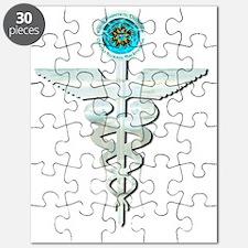 CRPS Glacier Caduceus Puzzle