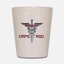 CRPS / RSD Medical Alert Shot Glass