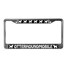 Otterhoundmobile License Plate Frame