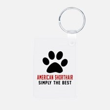 American Shorthair The Bes Keychains