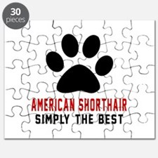 American Shorthair The Best Cat Designs Puzzle
