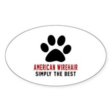 American Wirehair Simply The Best C Decal