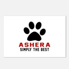 Ashera The Best Cat Desig Postcards (Package of 8)