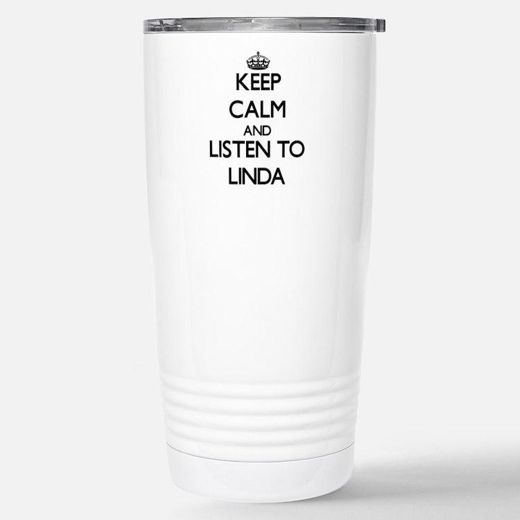 Cute Linda Travel Mug