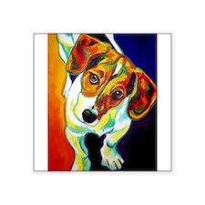 """Cute Dog breeds Square Sticker 3"""" x 3"""""""