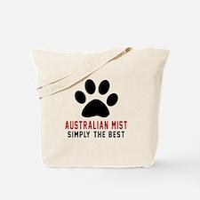 Australian Mist Simply The Best Cat Desig Tote Bag