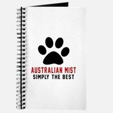 Australian Mist Simply The Best Cat Design Journal