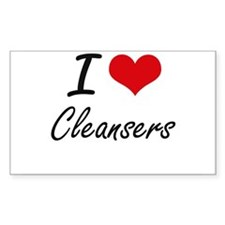 I love Cleansers Artistic Design Decal